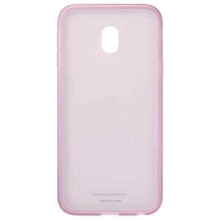 Калъф Samsung EF-AJ330TP JELLY COVER PINK J3 (2017)